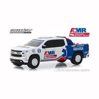 Greenlight 1/64 AMR Indycar Safety Team w/Safety Gear in Truck Bed 2019 Chev Silverado 30036 Diecast
