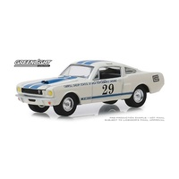 Greenlight 1/64 Carroll Shelby 1965 Ford Mustang Shelby GT350 High Performance Racing School 30064 Diecast