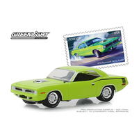 Greenlight 1/64 1970 Plymouth HEMI Cuda United Postal Services America on the Move 30069 Diecast