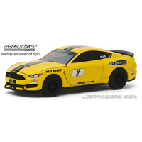 Greenlight 1/64 Triple Yellow 2016 Ford Mustang Shelby GT350 - Ford SINGLE Diecast Car