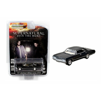 Greenlight 1/64 Supernatural 1967 Chevrolet Impala Sedan (Movie) 44692 Diecast