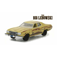 Greenlight 1/64 The Big Lebowski The Dudes 1973 Ford Gran Torino Hollywood Series 18 Movie