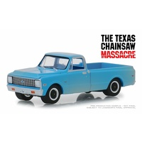 Greenlight 1/64 The Texas Chain Saw Massacre 1971 Chev C-10 Movie 44820-B Diecast