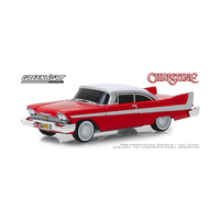Greenlight 1/64 Evil Christine (1983) 1958 Plymouth Fury w/blacked out windows Movie 44840-B Diecast
