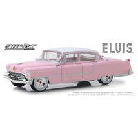 Greenlight 1/24 Elvis Presley (1953-77) Pink 1955 Cadillac Fleetwood Series 60 (Movie) 84092 Diecast