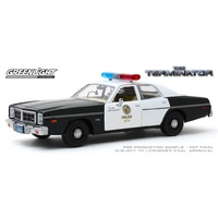 Greenlight 1/24 The Terminator (1984) 1977 Dodge Monaco Metopolitan Police