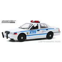 Greenlight 1/24 2011 Ford Crown Vic NYPD Pursuit