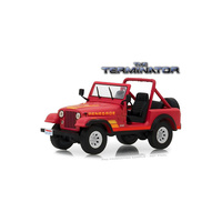 Greenlight 1/43 The Terminator (1984) Sarah Connor's 1983 Jeep CJ-7 Renegade (Movie) 86533 Diecast