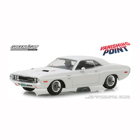 Greenlight 1/43 Vanishing Point (1971) 1970 Dodge Challenger R/T Movie 86545 Diecast