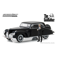 Greenlight 1/43 The Godfather (1972) 1941 Lincoln w/Don Corleone Figure Movie 86552 Diecast