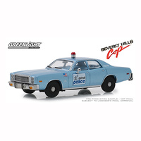 Greenlight 1/43 Beverly Hills Cop (1984) 1977 Plymouth Fury Detroit Police Movie 86565 Diecast