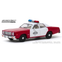 Greenlight 1/43 1977 Dodge Monaco Finchburg County Sheriff Diecast Car