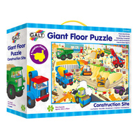 Galt - Construction Site Giant Floor Puzzle