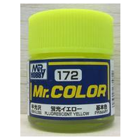 Gunze Mr Colour Gloss Fluororescent Yellow
