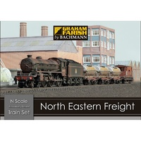 Graham Farish N North Eastern Freight Train Set