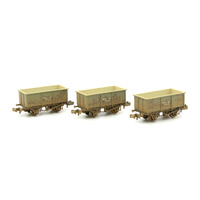 Graham Farish N Steel Tippler Wagon Pack BAC-377279