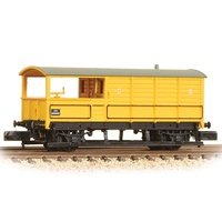 Graham Farish N GWR 20T 'Toad' Brake Van BR Departmental Yellow