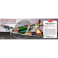 Guillows Spitfire WWII Balsa Laser Cut Model Kit