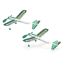 Guillows Captain Storm Twin Pack Balsa Glider
