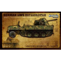 Great Wall 1/35 German sWS w/3.7cm Flak43 Anti-Aircraft GW-L3521