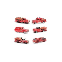 Golden Wheel 1:50 Vintage Fire Trucks Assorted Singles