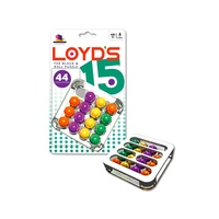 LOYDS 15 Block & Roll Puzzle