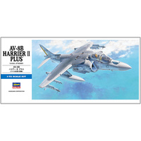 Hasegawa 1/72 AV-8B Plus Harrier II Plus 00454 Plastic Model Kit