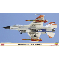 "Hasegawa 1/72 F-2A ""ADTW"" With ASM-3 02274 Plastic Model Kit"