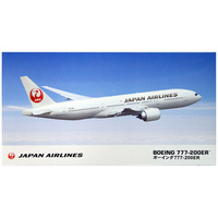 Hasegawa 1/200 Japan Airlines B777-200ER 10801 Plastic Model Kit