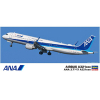 Hasegawa 1/200 ANA Airbus A321 ceo 10827 Plastic Model Kit