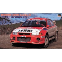 "Hasegawa 1/24 Mitsubishi Lancer Evolution VI ""1999 Rally New Zealand Winner"" 20415 Plastic Model Kit"
