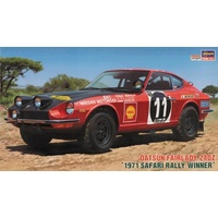 Hasegawa 1/24 Datsun Fairlady 240Z 1971 Safari Rally Winner 21058 Plastic Model Kit