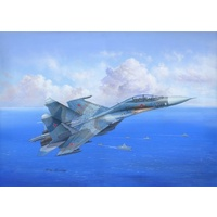 Hobby Boss 1/48 Su-27UB Flanker C 81713 Plastic Model Kit