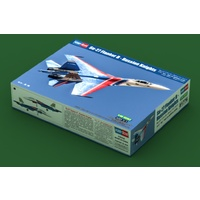 Hobby Boss 1/48 SU-27 Flanker B-Russian Knights Aerobatic Team Plastic Model Kit