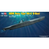Hobby Boss 1/350 DKM Navy Type VII-C U-Boat 83505 Plastic Model Kit