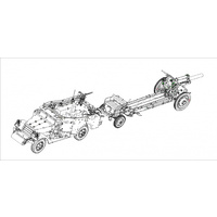 Hobby Boss 1/35 M3A1 Howitzer M-30