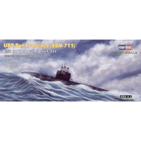Hobby Boss 1/700 USS San Francisco SSN-711 87015 Plastic Model Kit
