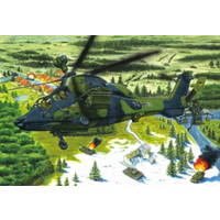 Hobby Boss 1/72 Eurocopter Tiger UHT Helicopter 87214 Plastic Model Kit