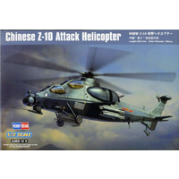 Hobby Boss 1/72 Chinese Z-10 Attack Helicopter H87253