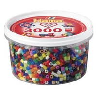 Hama Beads - BeadTubs(3000Beads) - AllColours