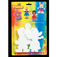 Hama Beads - Pegboard Blister - Large Flower, Rabbit, Fairy