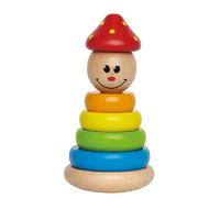 Hape E0400 Clown Stacker