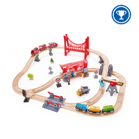 Hape E3730 Busy City Rail Set