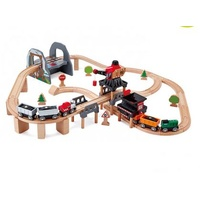 HAPE  Lift and Load Mining Wooden Rail Set