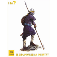 HAT 1/72 El Cid Andalusian Infantry HAT8168