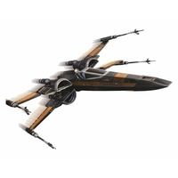 "6"" Star Wars Poe's X-Wing Fighter Starship Episode VII The Force Awakens"