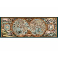 Heye 6000pcs Panorama Hemisphere Map