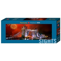 Heye 1000pc Sights Tower Bridge Jigsaw Puzzle