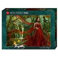 Heye 2000pc Ortega New Red Jigsaw Puzzle