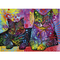 Heye 1000pc Jolly Pets Devoted Cats